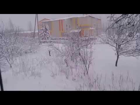 Снегопад 23/01/2018