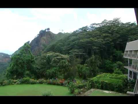 من شرفة فندق هونس فولس Hunas Falls Resort