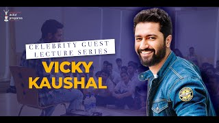 Vicky Kaushal shares a hilarious anecdote: Guest Lecture @Anupam Kher's Actor Prepares