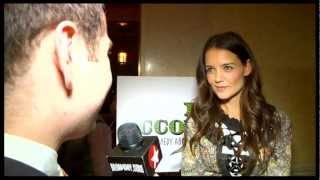 """Katie Holmes, Norbert Leo Butz and the Cast of """"Dead Accounts"""" Ring In Opening Night on Broadway"""