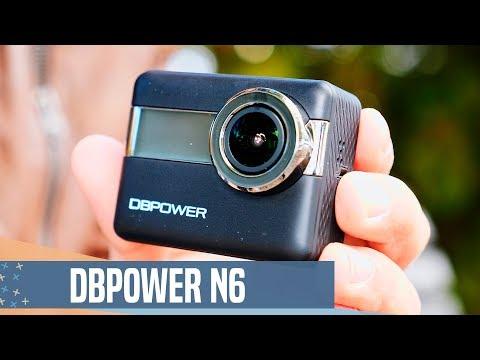 La cámara de acción MÁS ECONÓMICA: dBPower N6 review