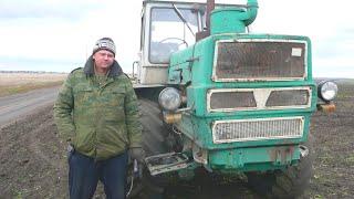 183-Д.(15д.зябь).Остался один на Т-150К+БДМ 3х4П.Мелкий ремонт.