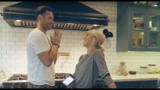 Cooking at Home With My Amazing Wife Julianne Hough