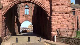 Arbroath Abbey Angus Scotland