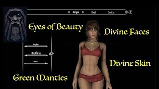 Skyrim: Divine Skin, Eyes and Faces