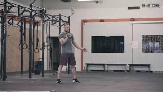 Kettlebell Clean Tutorial   HEARTCORE Athletics