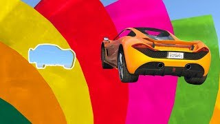 ULTIMATE RAINBOW OBSTACLE COURSE! (GTA 5 Races)