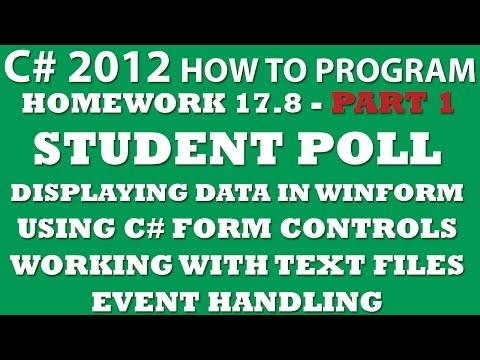 C# WinForms Archives - Coding HomeworkCoding Homework