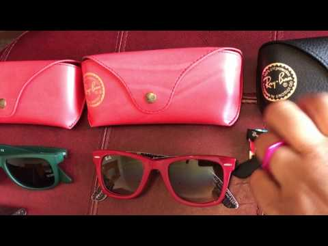 Designer sunglasses collection Gucci Versace Ray Ban