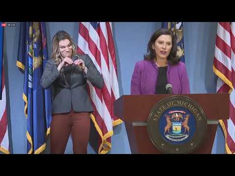 "Governor Whitmer Says Decisions About College Campuses This Fall are Still ""Evolving Conversations"""