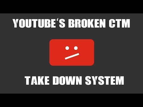 YouTube's New Abusable Take Down System (Worse Than The DMCA System!)