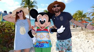 Disney Cruise Week!   Disney's Private Island Castaway Cay, Farewell Party & Secret Character Meets!