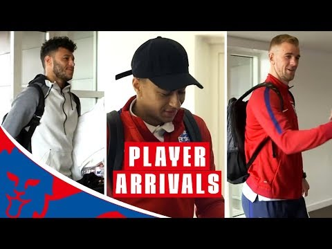 Behind-the-Scenes Access! | England Stars Arrive for Netherlands and Italy Friendlies