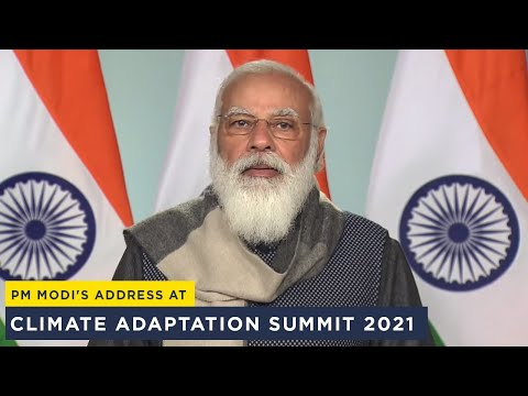 PM Modi's address at Climate Adaptation Summit 2021