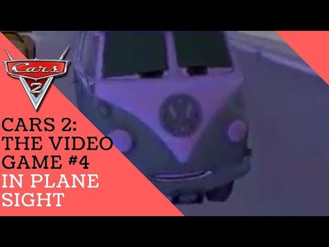 Cars 2: The Video Game #4 - In Plane Sight