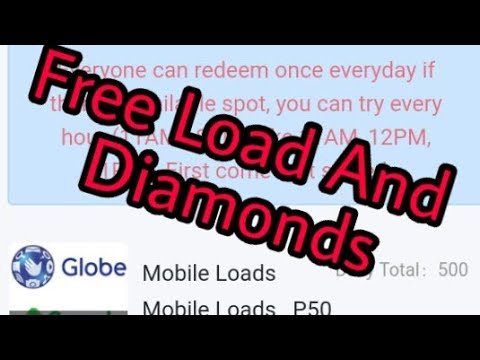 How to Get Free Mobile Legends Diamonds And Free Load  New App 2019