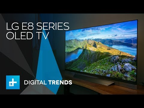 "LG 55"" E8 Series OLED TV - Hands On Review"
