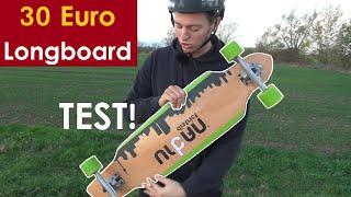 NICHT kaufen! - Das billigste Amazon-Longboard im TEST: 30 Euro für den Müll? | Longboarding Germany