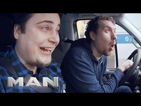 MAN TGE - Truck Horn Prank (видео)