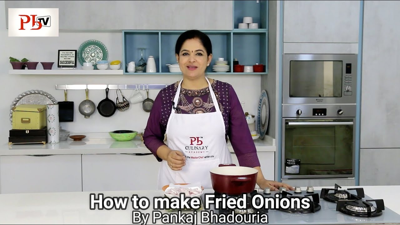 How to make Fried Onions Image