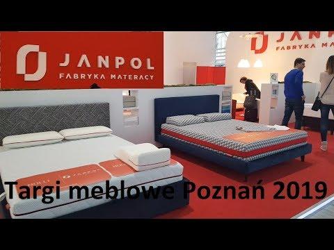 Materace Janpol. Targi meblowe Poznań 2019 Meble Polska