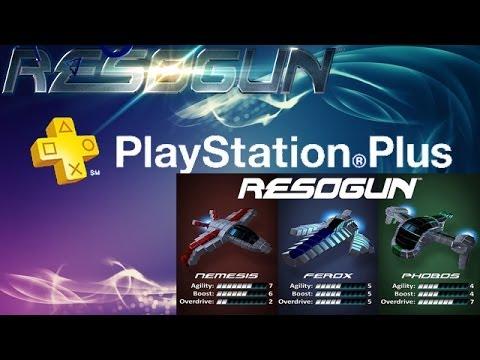 Resogun - 20 Minuten Gameplay Review reparirte aufnahme PS4