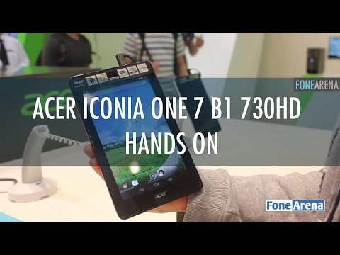 Acer Iconia One 7 B1 730HD Hands On