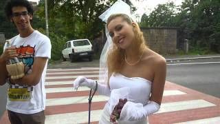 preview picture of video 'Spose : ragazze sfilata Festa a Mentana (Roma) : video'