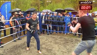 Old farmer vs MMA Fighters 2 !! Return !!!
