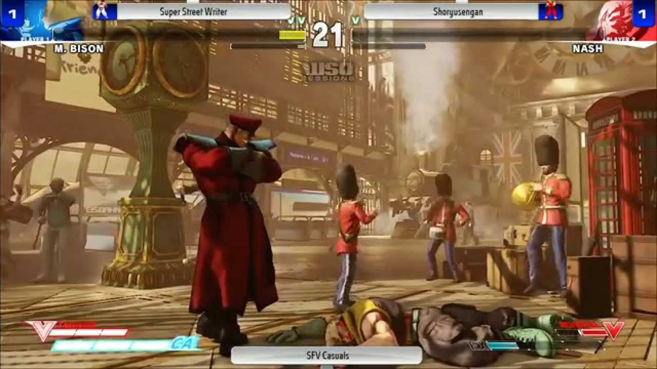 One Hour Of Street Fighter V In Action