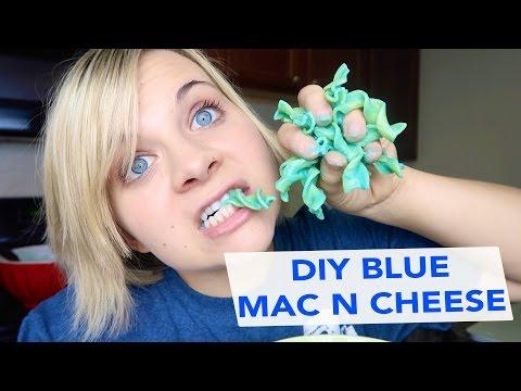 DIY BLUE MAC N CHEESE!! 😋