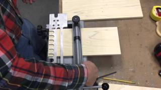 Building Drawers With Porter Cable Dovetail Jig