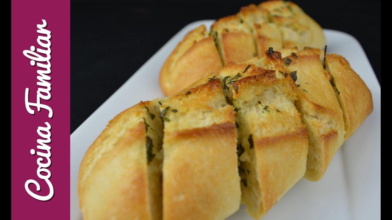 Como hacer pan de ajo con un bollo | Javier Romero