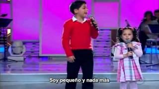Milena y Gabriel Entra en mi casa subtitulado