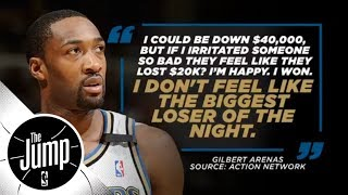 Gilbert Arenas-Javaris Crittenton showdown stemmed from card game | The Jump | ESPN