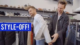 Thrift Store Style-Off Challenge | Second-Hand Shopping at Crossroads Trading with Nathan McCallum