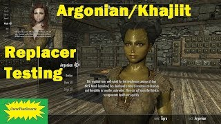 Skyrim - Nephilim - Argonian/Khajiit Replacer - Testing