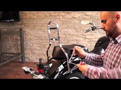 Sissy Bar Instrucciones de Montaje Yamaha XVS 1300 Midnight Star