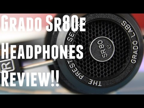 GRADO SR80e Headphones Review: Better than Beats, Sony, and Bose??