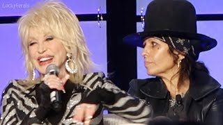 Dolly Parton And Linda Perry Talk About Upcoming Jennifer Aniston Dumplin' Film Collaboration
