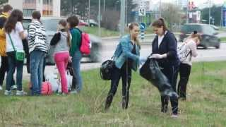 preview picture of video 'Cleanup in Lasnamäe 2013'
