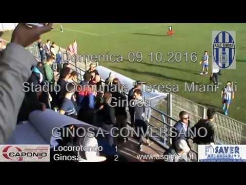 Preview video LOCOROTONDO-GINOSA 1-2 Espugnato il comunale di Locorotondo con una prova di carattere