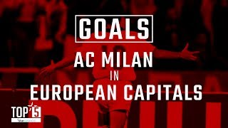 Our Top 5 goals in European capitals