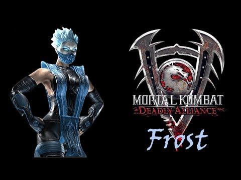 Mortal Kombat Deadly Alliance: Frost Arcade Ladder (GBA