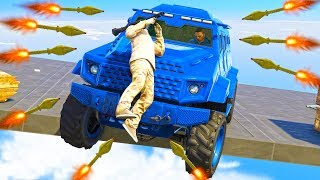 БРОНИРОВАННЫЕ МАШИНЫ ПРОТИВ ЛЮДЕЙ С 1000 РПГ РЕЖИМЕ CARS VS RPG В ГТА 5 ОНЛАЙН !