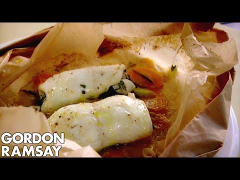 Lemon Sole en Papillote – Gordon Ramsay
