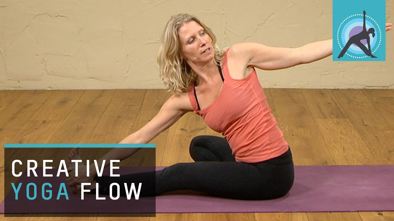 Creative Vinyasa Yoga Flow - YouTube