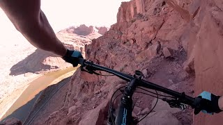 Riding the Portal Trail Moab Utah