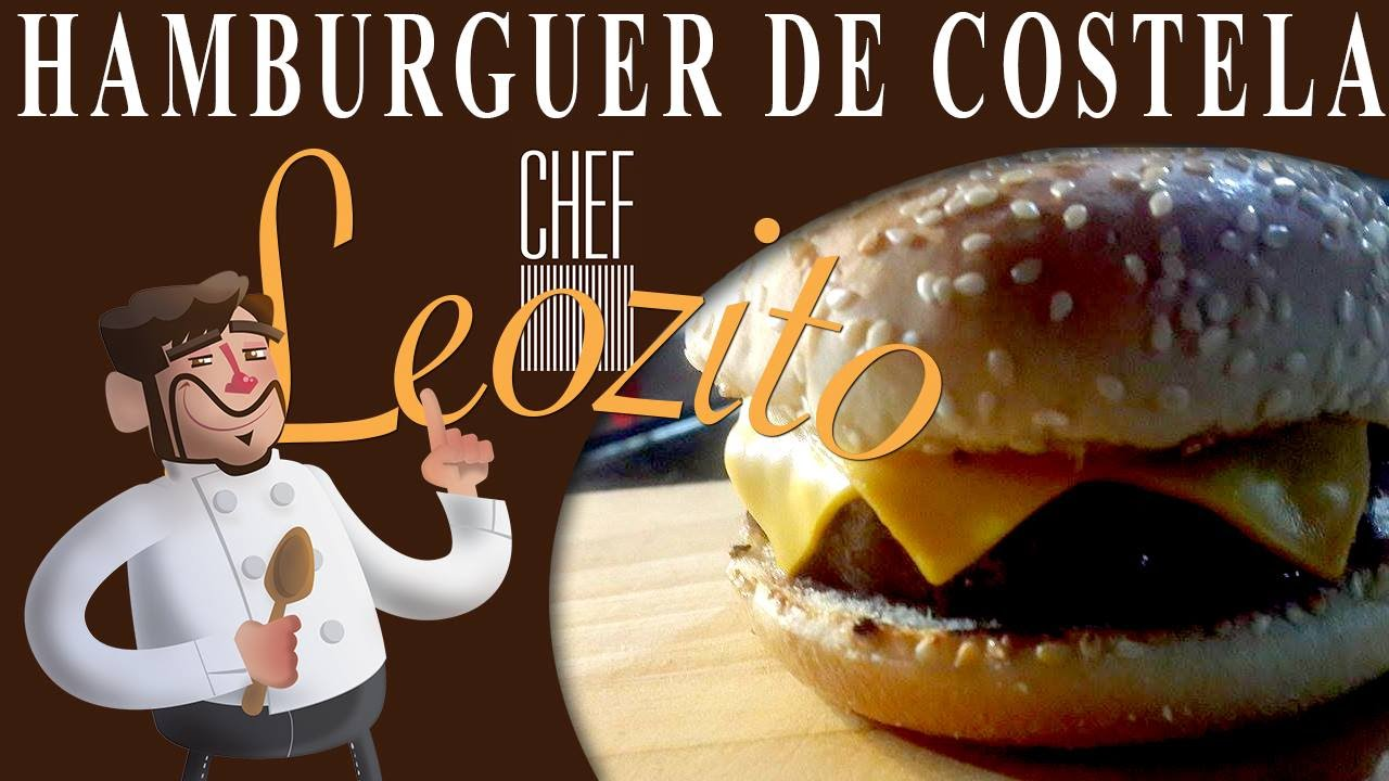 Hamburguer de Costela – Chef Leozito e Cia #15