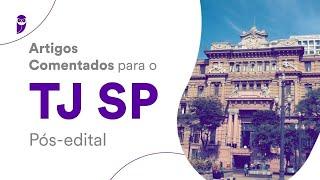 Artigos Comentados para o TJ SP Pós-edital: Direito Constitucional - Prof. Adriane Fauth